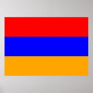 Armenia Flag Poster