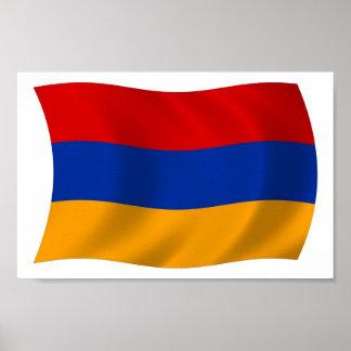 Armenia Flag Poster Print