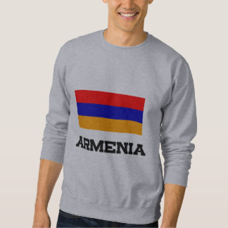 Armenia Flag Pullover Sweatshirt