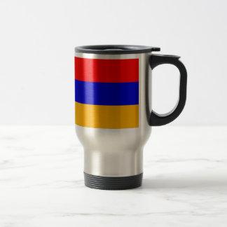 Armenia Flag Travel Mug