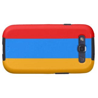 Armenia Flat Set Galaxy S3 Case