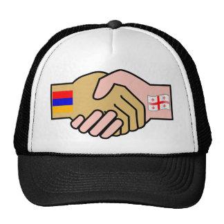 Armenia Georgia Armenia flag Mesh Hats