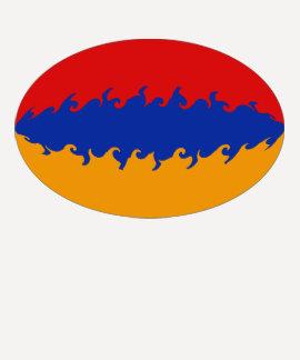 Armenia Gnarly Flag T-Shirt