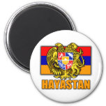 Armenia Hayastan Coat of Arms 2 Inch Round Magnet