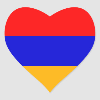 armenia heart sticker