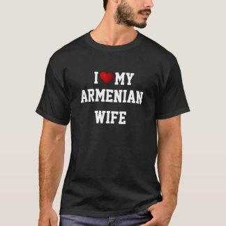 ARMENIA: I LOVE MY ARMENIAN WIFE t-shirt