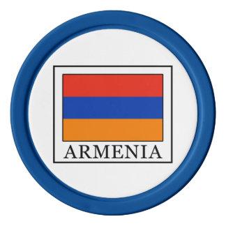 Armenia Juego De Fichas De Póquer