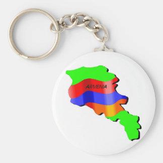 Armenia Keychain
