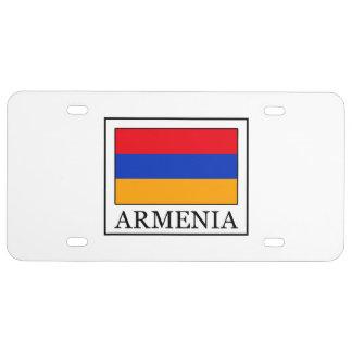 Armenia License Plate