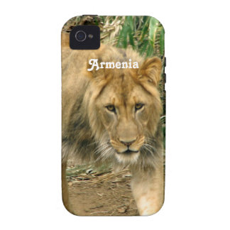 Armenia Lion Vibe iPhone 4 Cover