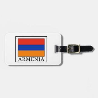 Armenia Luggage Tag