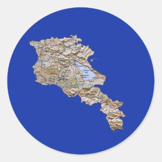 Armenia Map Sticker