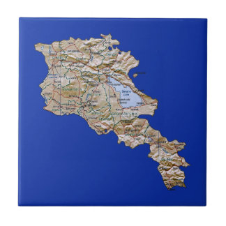 Armenia Map Tile