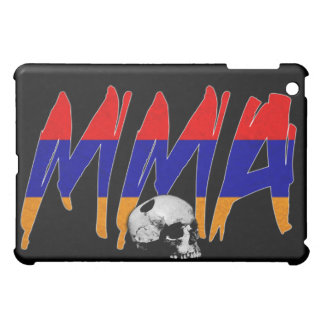 Armenia MMA Skull Black iPad Case