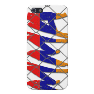Armenia MMA white iphone 4g case Case For iPhone 5/5S