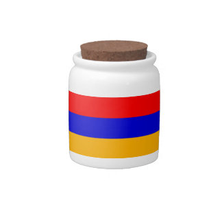 Armenia National Flag Candy Dishes