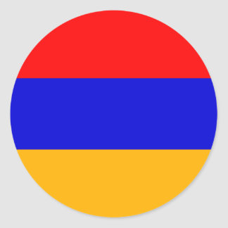 Armenia National Flag Classic Round Sticker