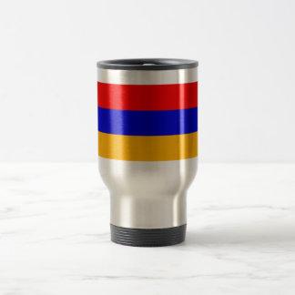 Armenia National Flag 15 Oz Stainless Steel Travel Mug