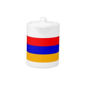 Armenia National Flag Teapot