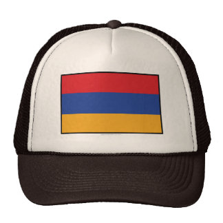 Armenia Plain Flag Hats