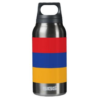 Armenia Plain Flag Insulated Water Bottle