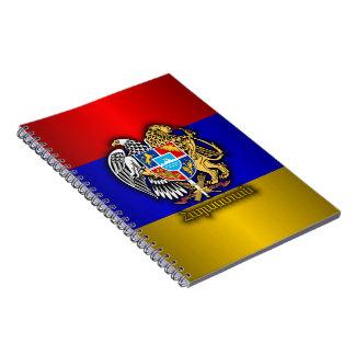 Armenia Pride Spiral Note Book