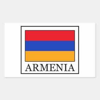 Armenia Rectangular Sticker