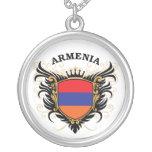 Armenia Round Pendant Necklace