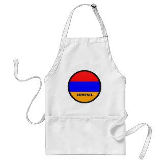 Armenia Roundel quality Flag Adult Apron