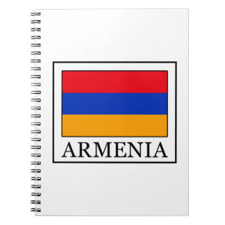 Armenia Spiral Notebook