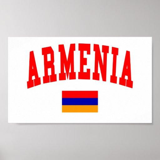 Armenia Style Poster