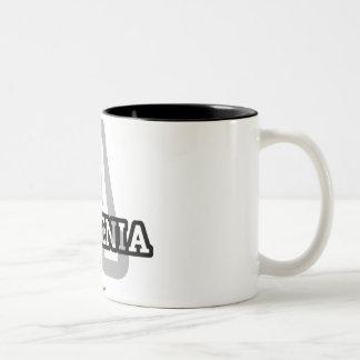Armenia Two-Tone Coffee Mug