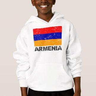Armenia Vintage Flag Hoodie
