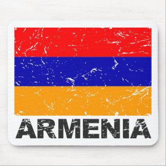 Armenia Vintage Flag Mouse Pad