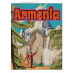 Armenia Vintage Travel Poster