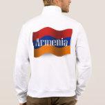 Armenia Waving Flag Printed Jacket