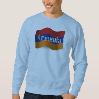 Armenia Waving Flag Sweatshirt