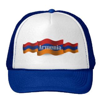 Armenia Waving Flag Trucker Hat