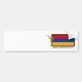 ARMENIA YEREVAN MISSION LDS CTR BUMPER STICKER