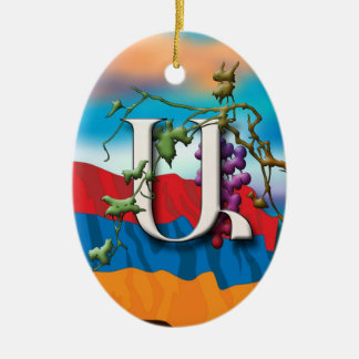Armenian Alphabet Initials 'Iyp' Ornament