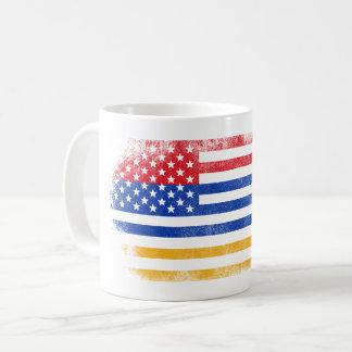 Armenian American Flag   Armenia and USA Design Coffee Mug