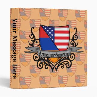 Armenian-American Shield Flag Binder
