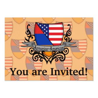 Armenian-American Shield Flag Card