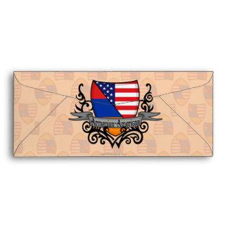 Armenian-American Shield Flag Envelope