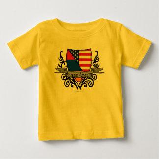 Armenian-American Shield Flag T-shirt