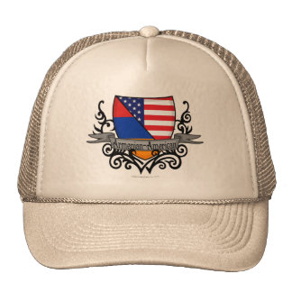 Armenian-American Shield Flag Trucker Hat