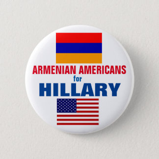 Armenian Americans for Hillary 2016 Button