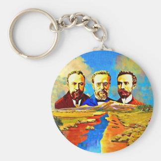 Armenian ARF Round keychain