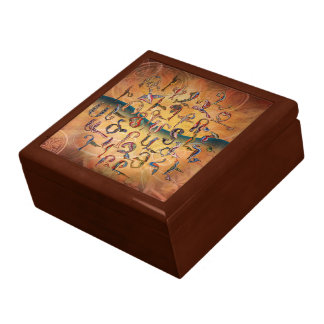 Armenian Birds Alphabet Gift Box