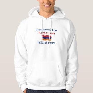Armenian Builds Character Hoodie